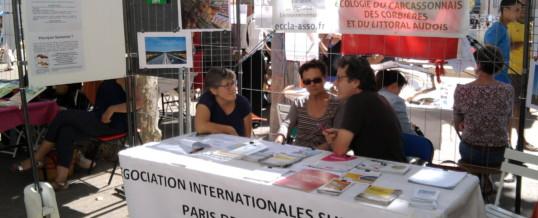 26/09/15 : Présence d'ECCLA au Forum des Associations à Narbonne