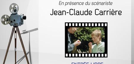 28/08 : En présence de J.C. Carrière, invitation d'ECCLA à la projection du film le «Jardinier récalcitrant»